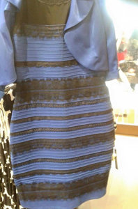 White Gold Black Blue Dress -The debate rages on.