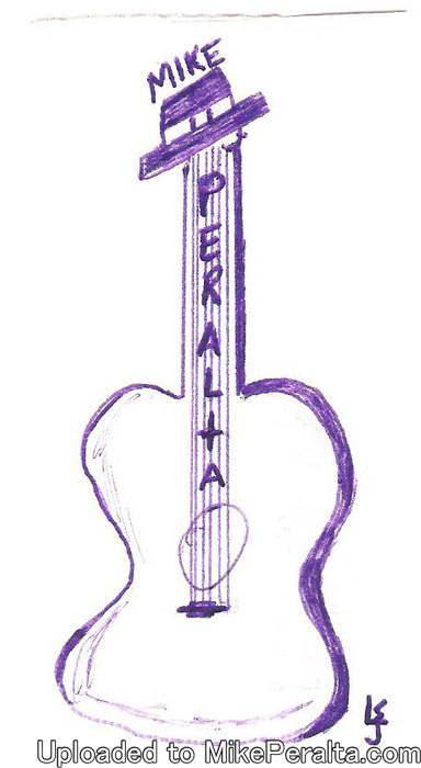 LJs - Guitar Drawing